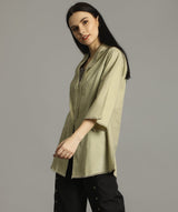 Uptownie Beige Bell Sleeves Tunic 2 trendsale