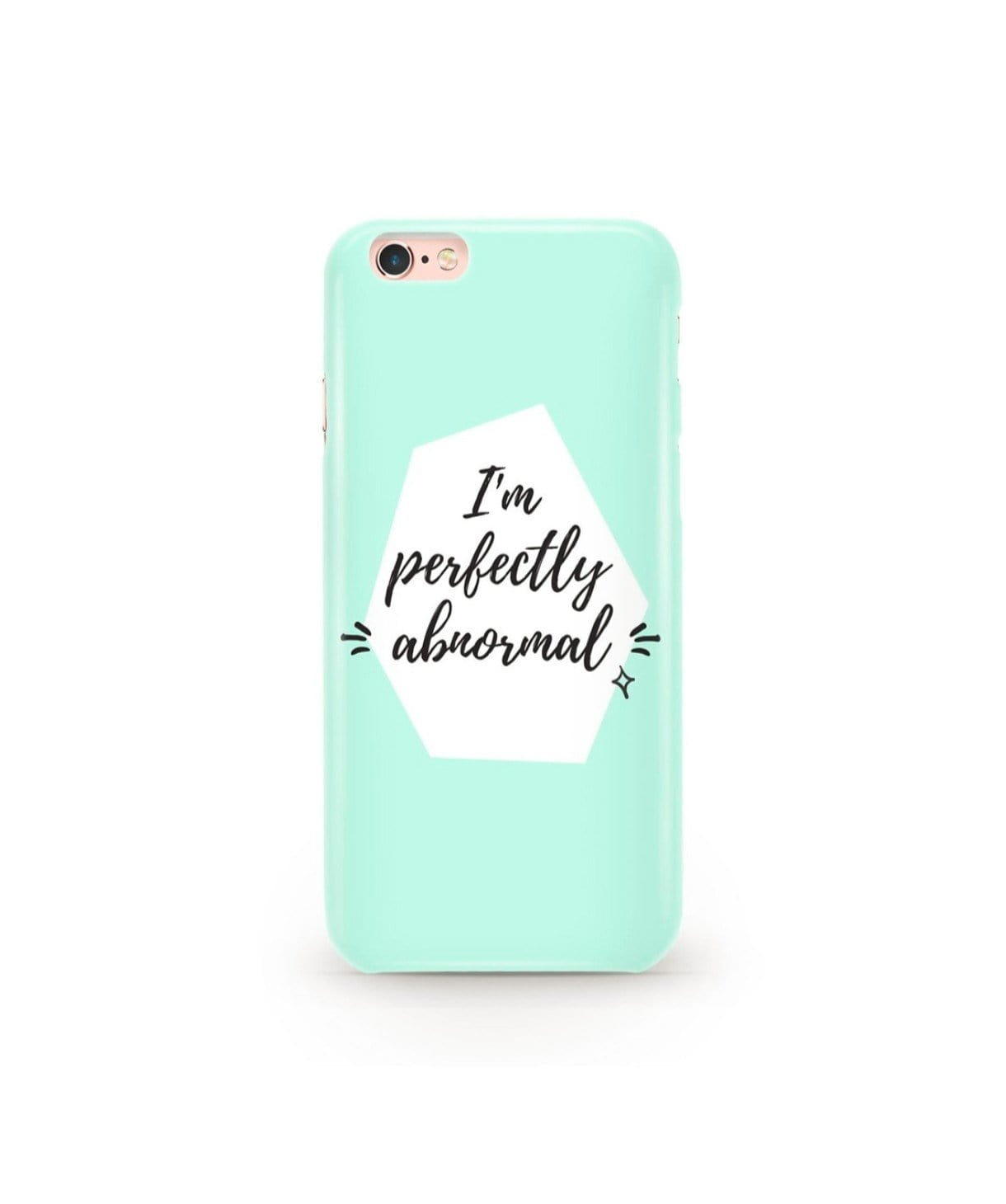 Being Abnormal IPhone Cover (Personalisation Available) - Uptownie