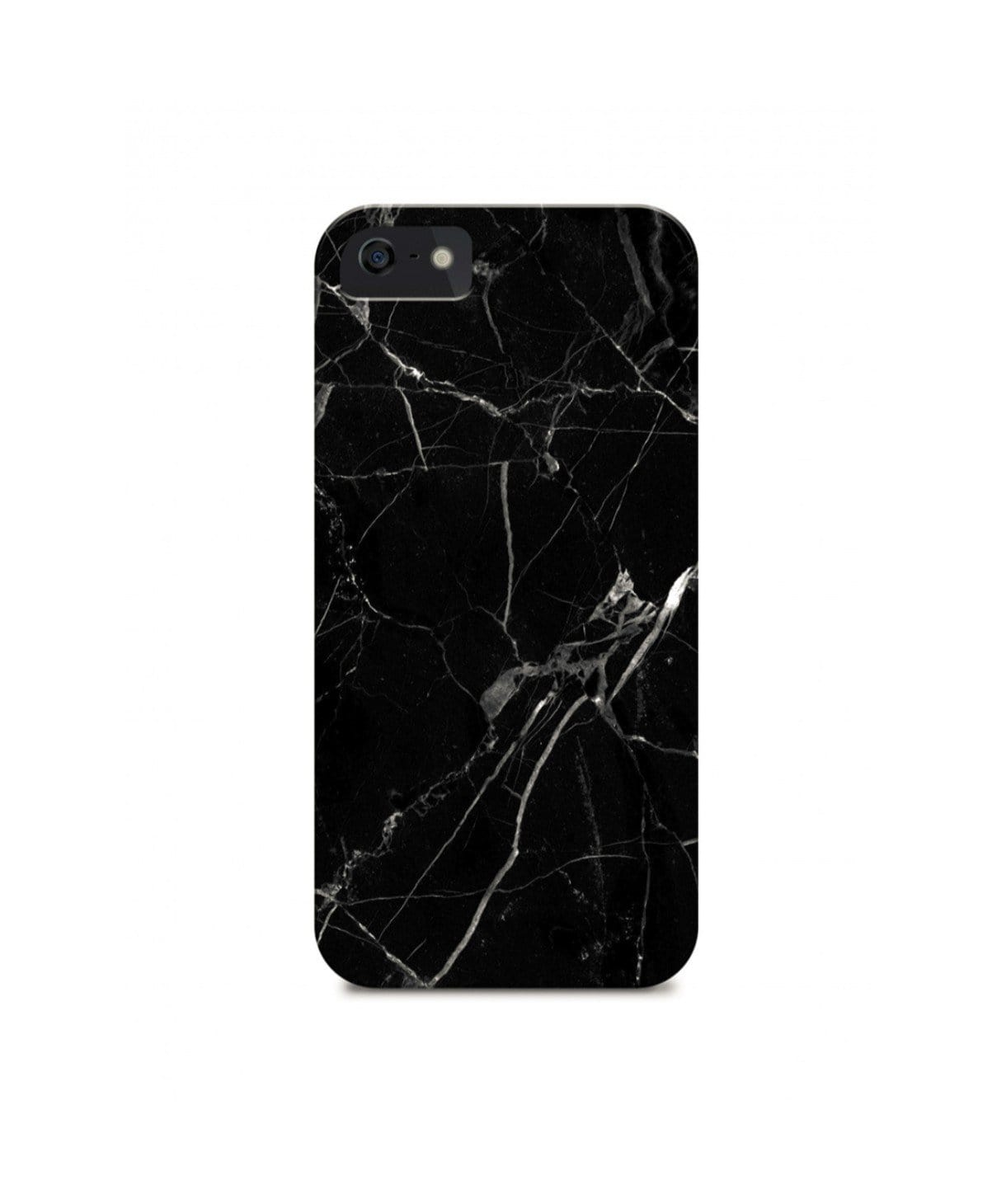 Black Marble IPhone Cover (Personalisation Available) - Uptownie