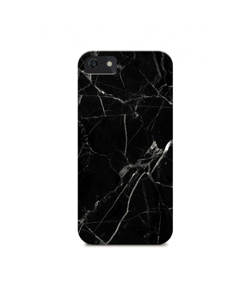 Black Marble IPhone Cover (Personalisation Available)