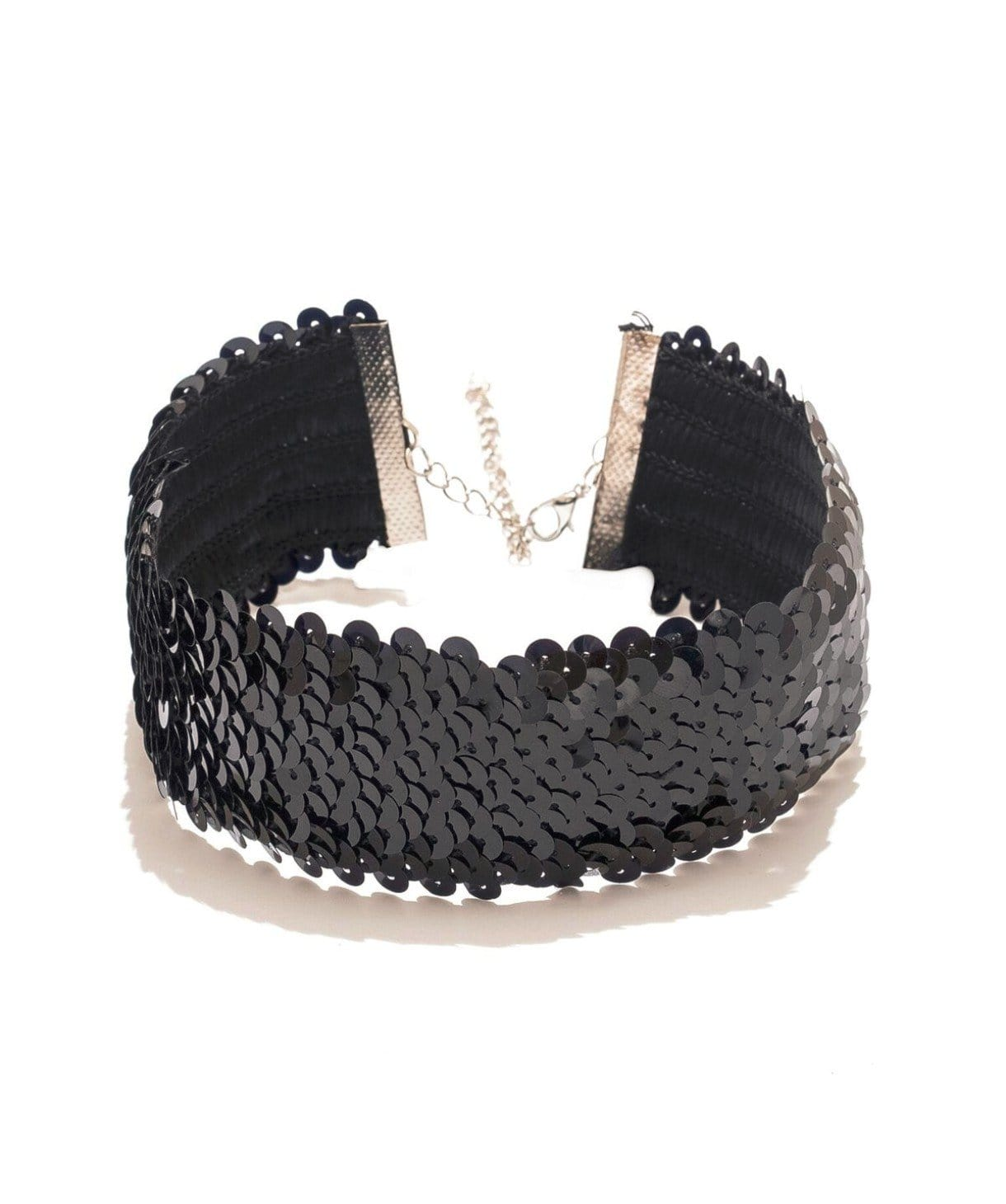 Black Sequin Choker - Uptownie