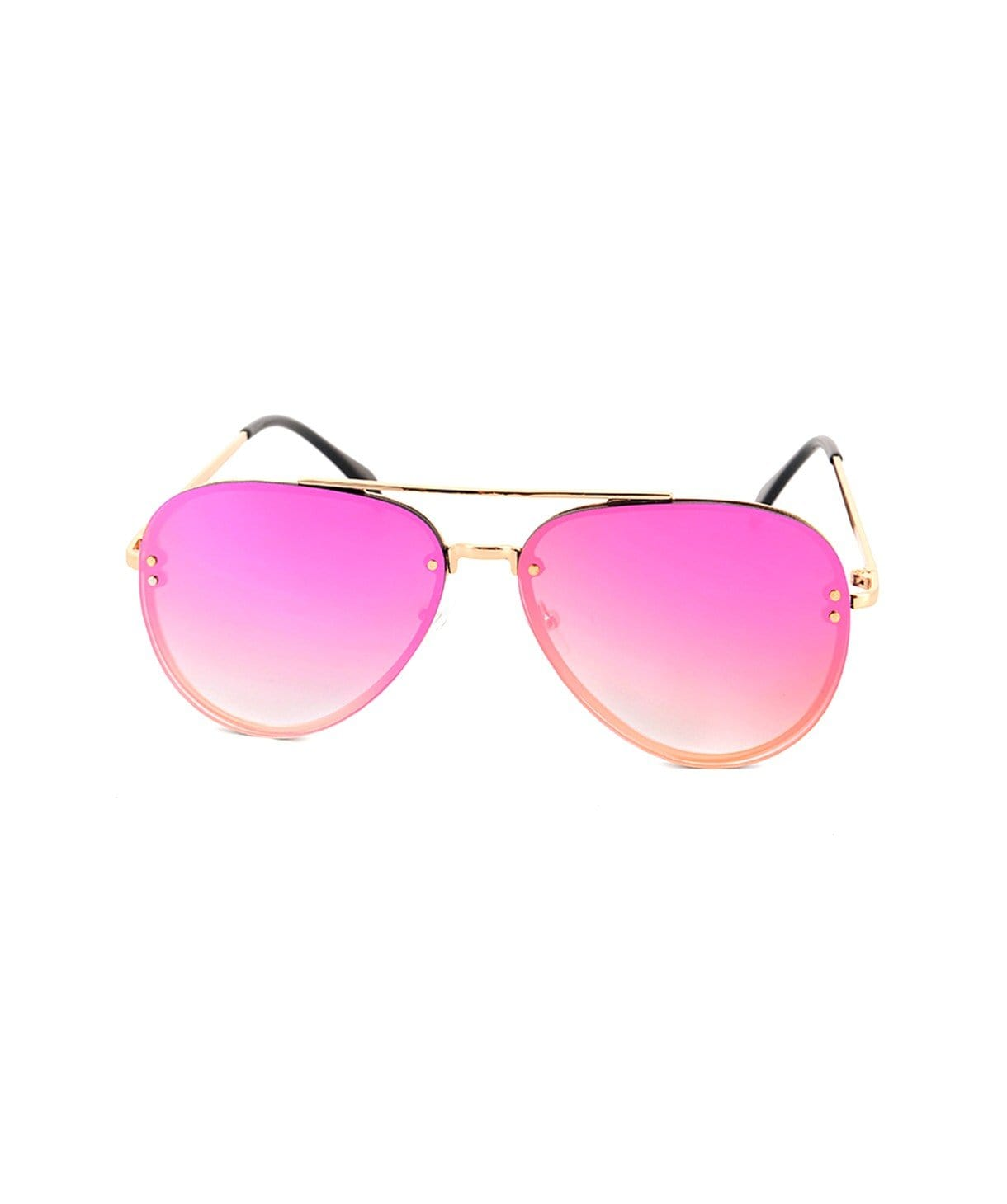 Blush Reflector Sunglasses - Uptownie