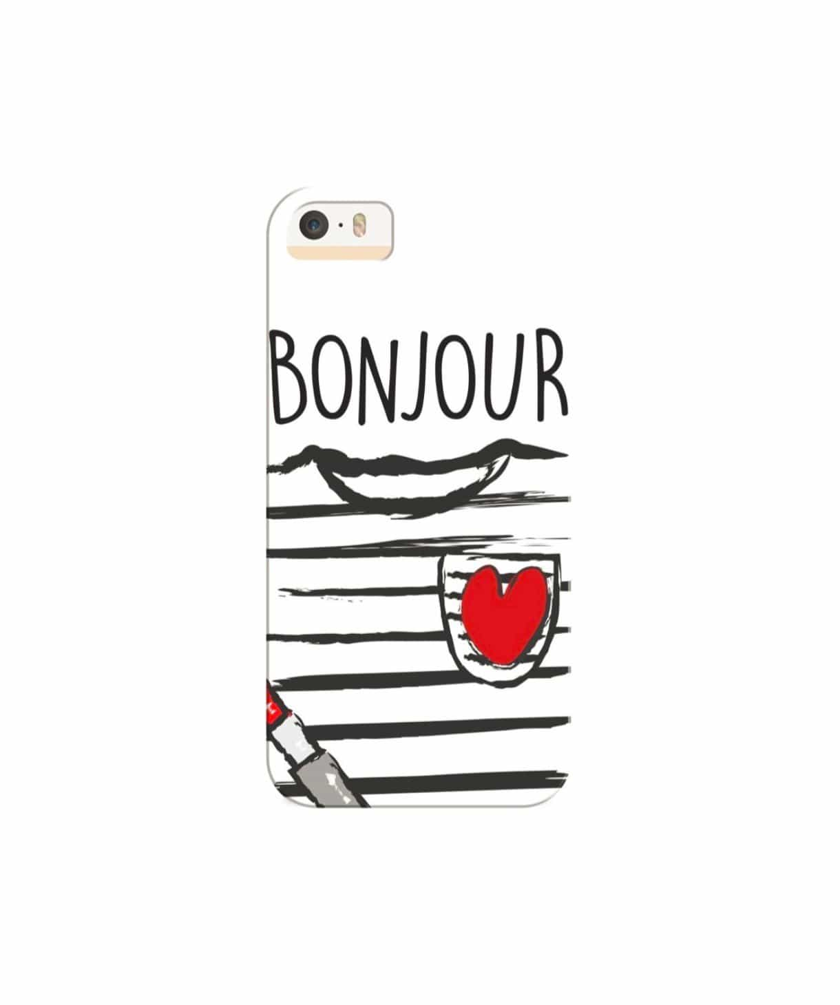 Bonjour IPhone Cover - Uptownie