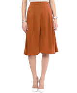 Uptownie Brown Adjustable Culottes 2 trendsale