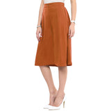 Uptownie Brown Adjustable Culottes 3 trendsale