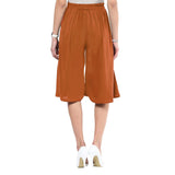Uptownie Brown Adjustable Culottes 5 summer sale
