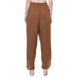 Uptownie Brown Crepe Tulip Pants 5 trendsale