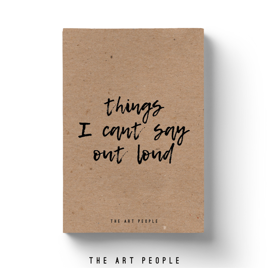 Can't Say Loud Notebook