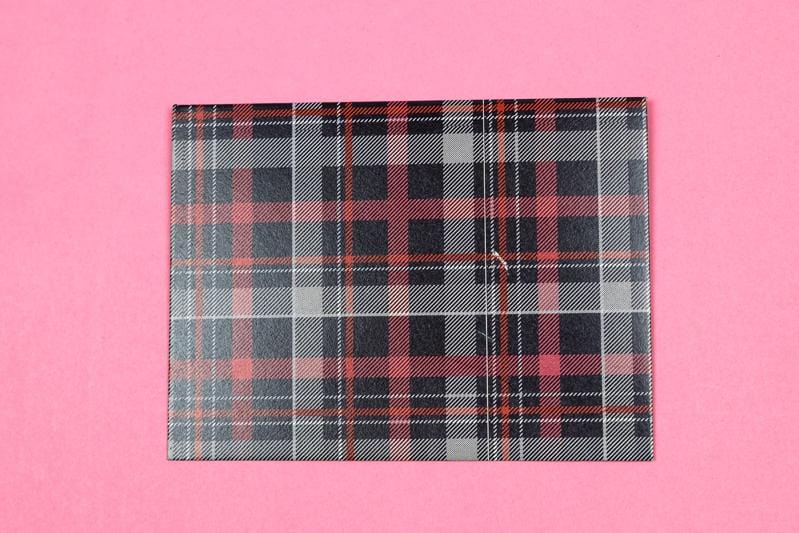 Chequered Greeting Cards(set of 10)(Personalisation Available) - Uptownie