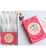 Uptownie X Creative Box-Cupcake Cafe Handpainted Book Clutch - Uptownie