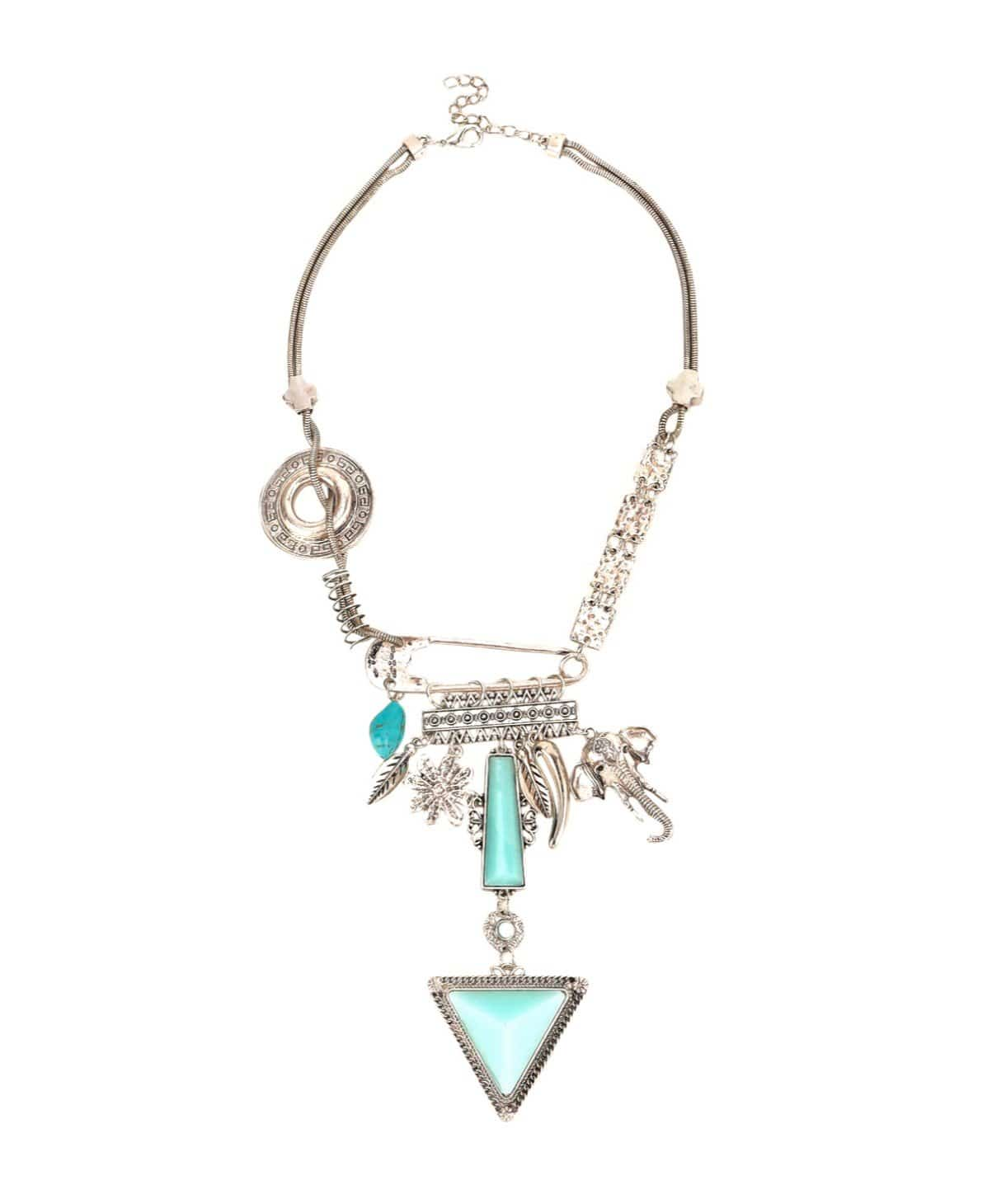 Curio Charm Necklace - Uptownie
