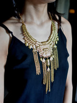 Curio Gold Tassel Necklace - Uptownie