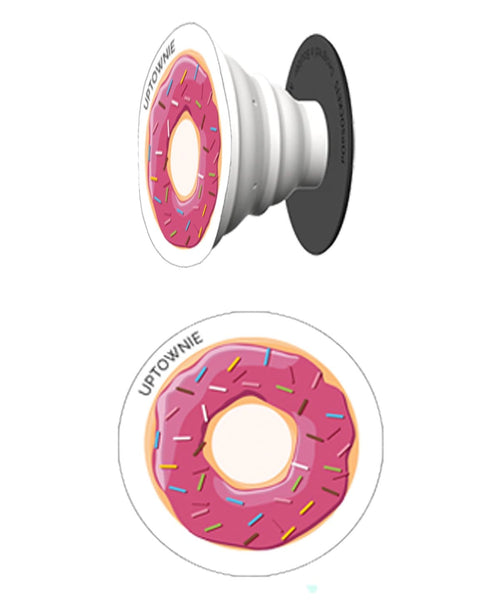 Cute Donut Print Pop Socket - Uptownie