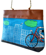 Uptownie X Creative Box-The Cycle Handpainted Sling - Uptownie