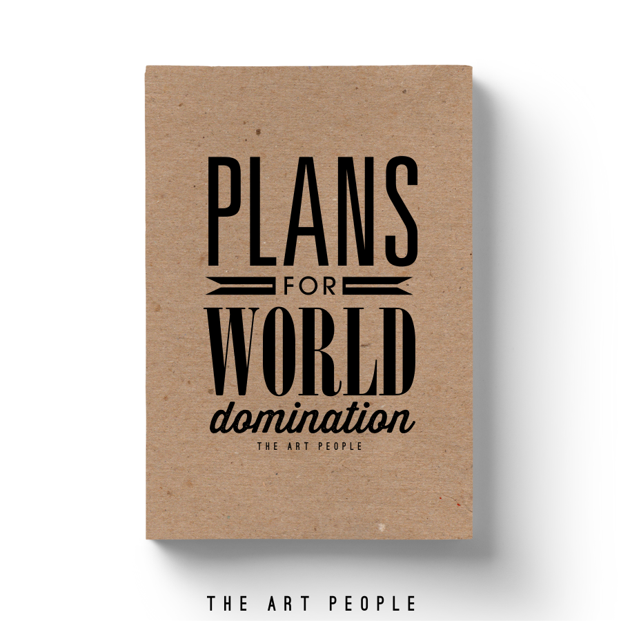 World Domination Notebook - Uptownie