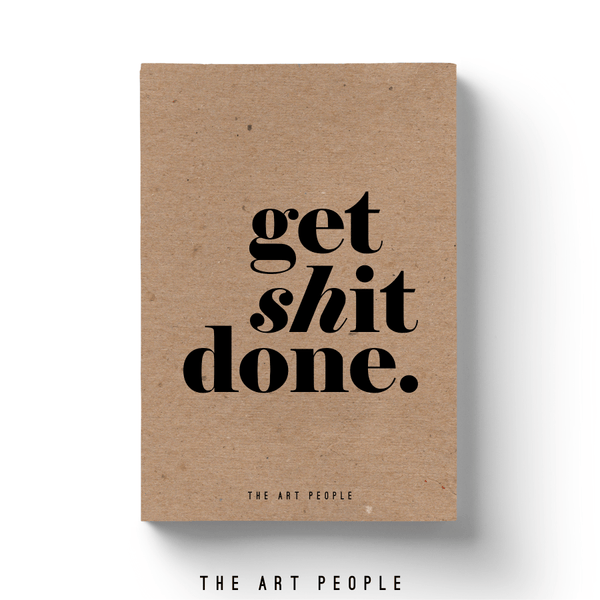 Get Done Notebook - Uptownie