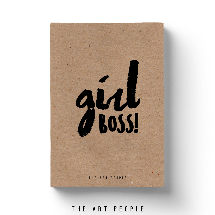 Girl Boss Notebook - Uptownie