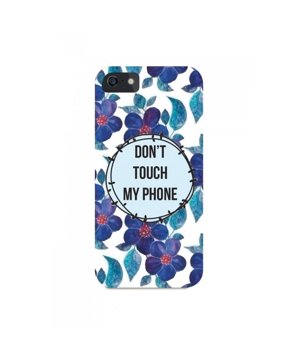 Don't Touch My IPhone Cover (Personalisation Available) - Uptownie