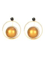 Circle Of Gold Earrings - Uptownie