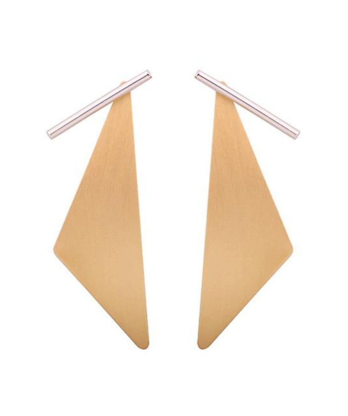 Geometric Statement Earrings - Uptownie