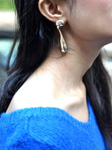 Mismatched Gold Earrings - Uptownie