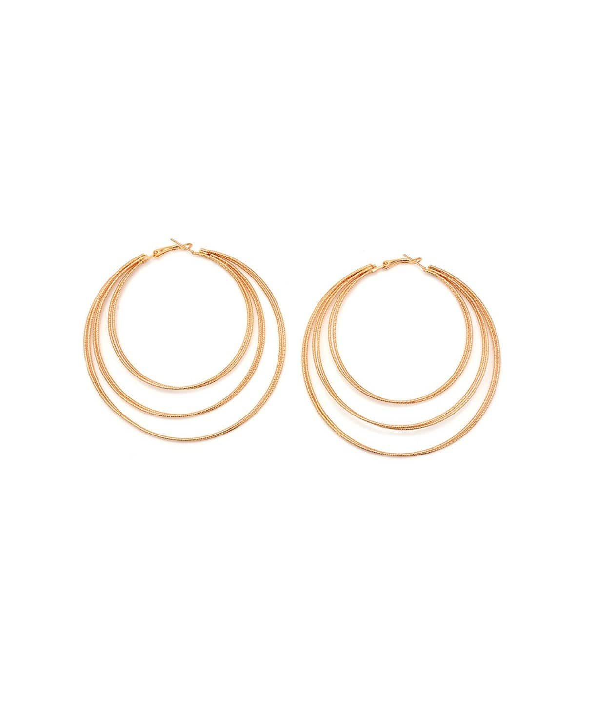 Tier Hoop Earrings - Uptownie