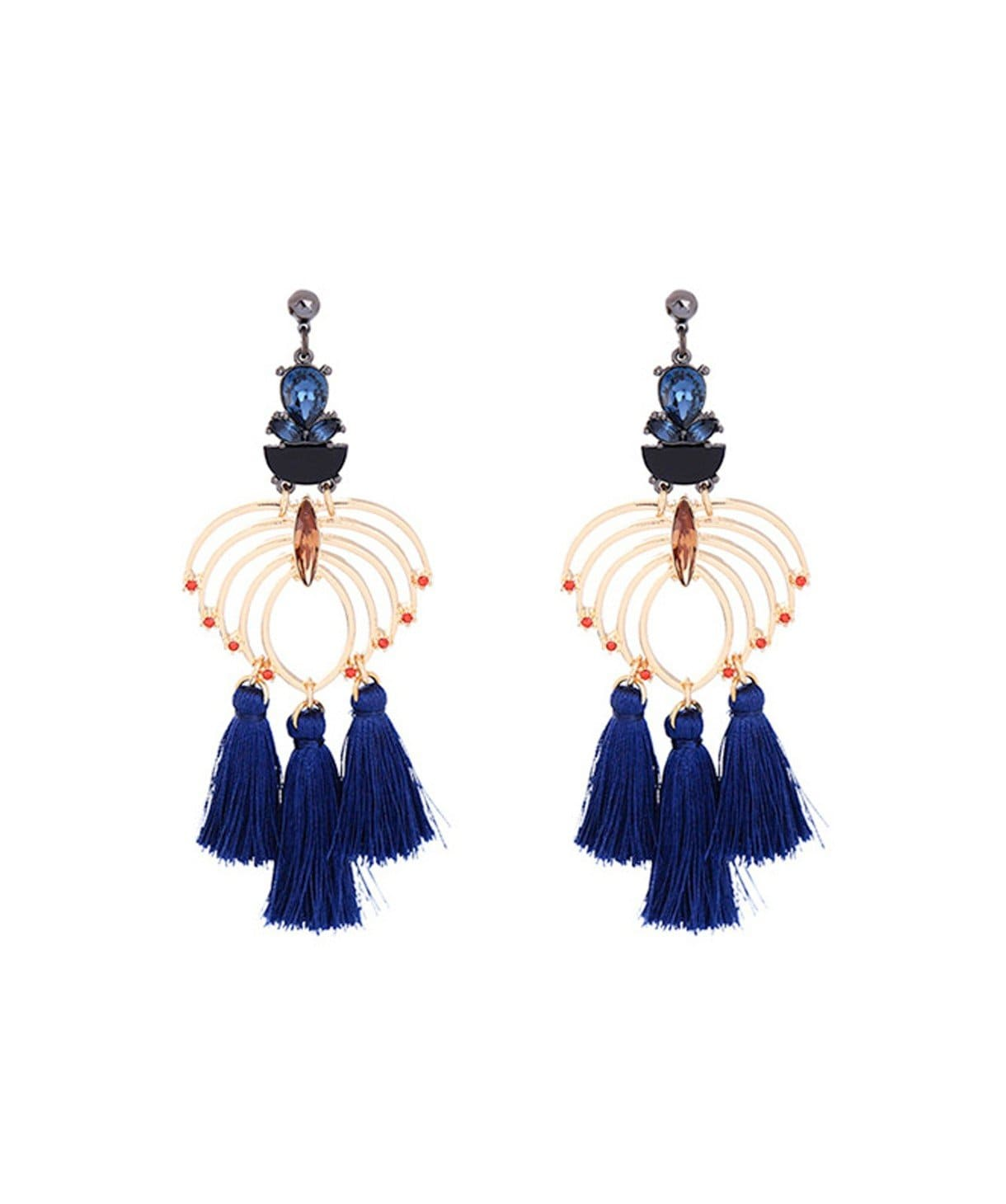 Fountain Tassel Earrings - Uptownie