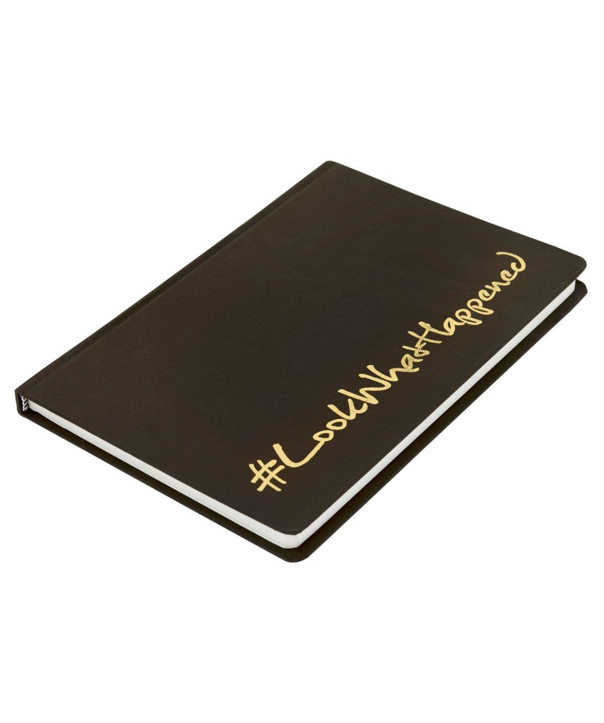 LWH - BLACK Diary (hard cover) - Uptownie