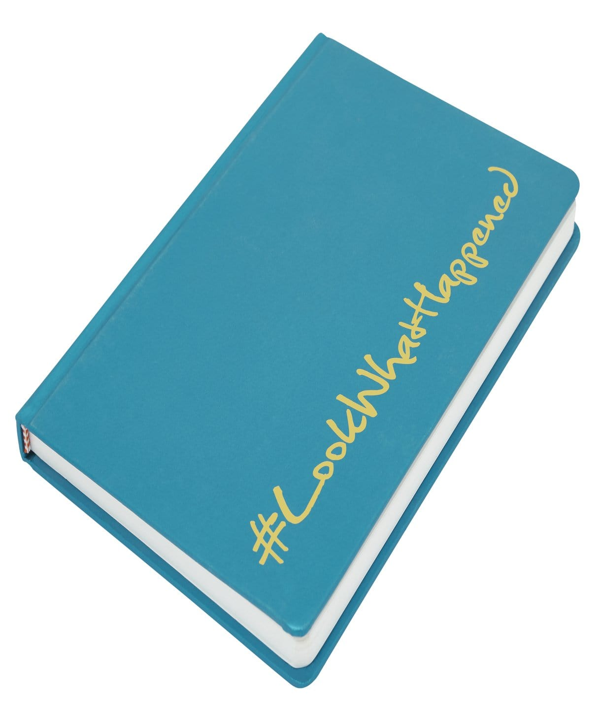 LWH - GLAMOUR GREEN Diary (hard cover) - Uptownie