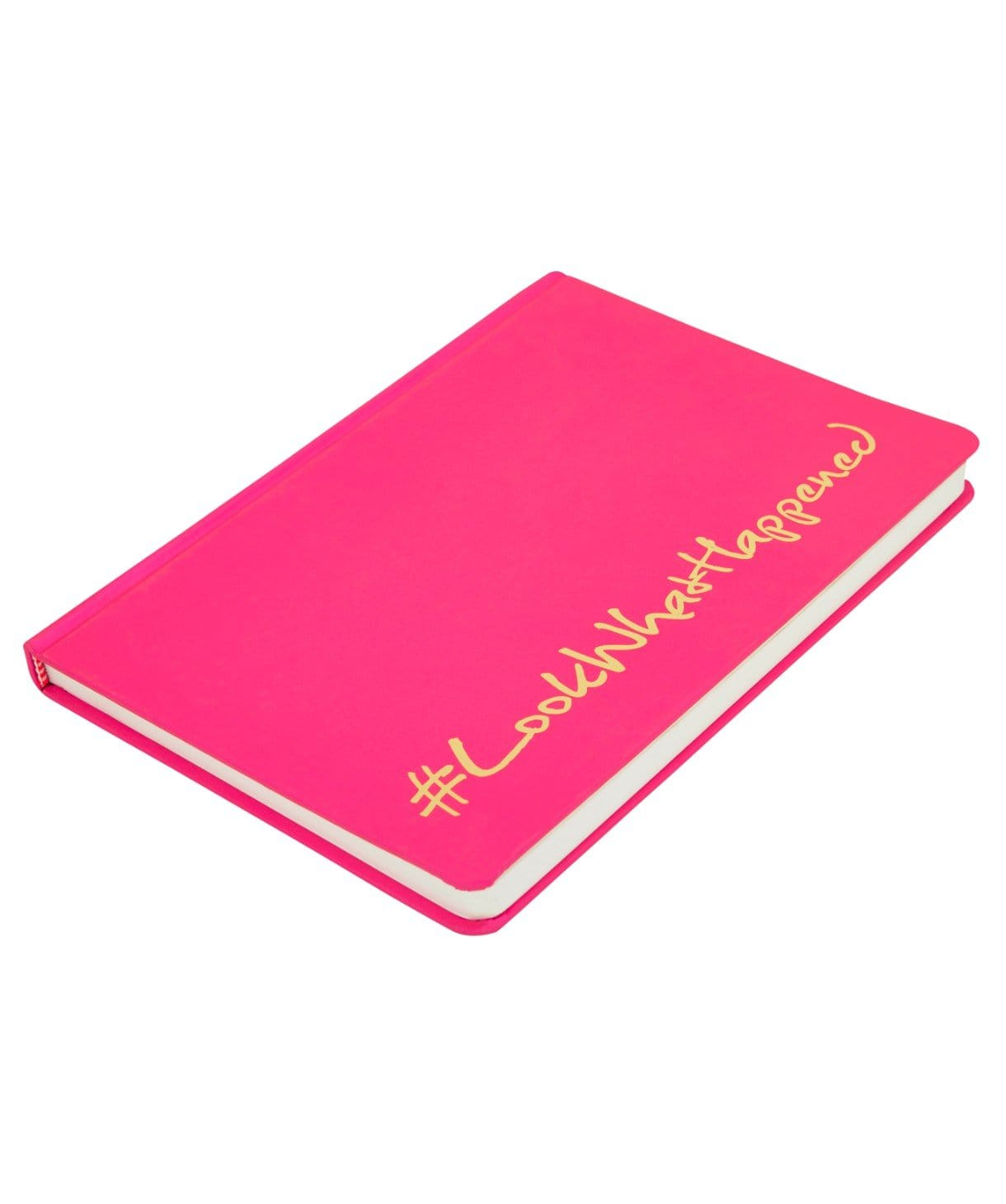 LWH - SILKY PINK Diary (hard cover) - Uptownie
