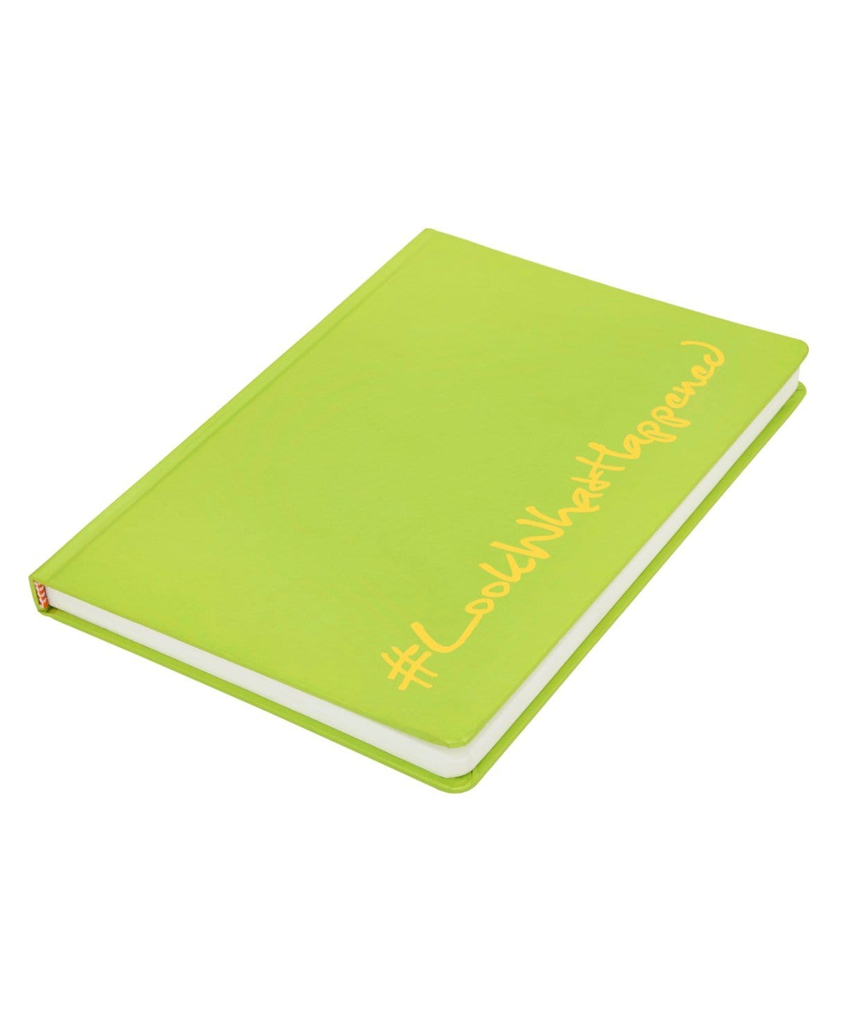 LWH - SHOCKING GREEN Diary (hard cover) - Uptownie