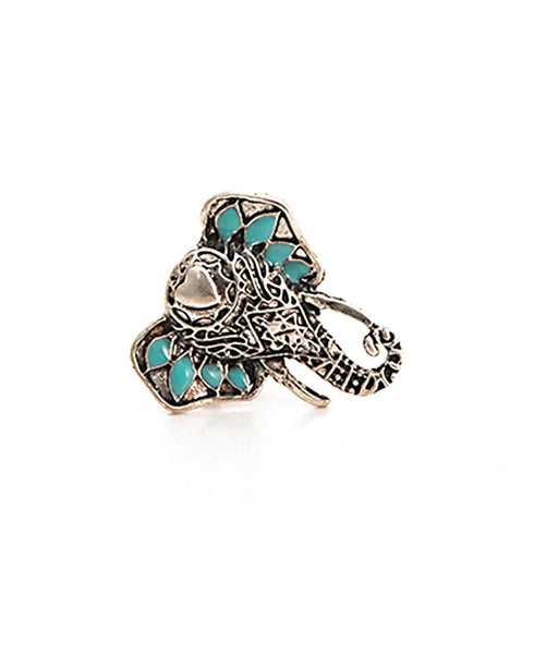 Elephant Statement Ring - Uptownie