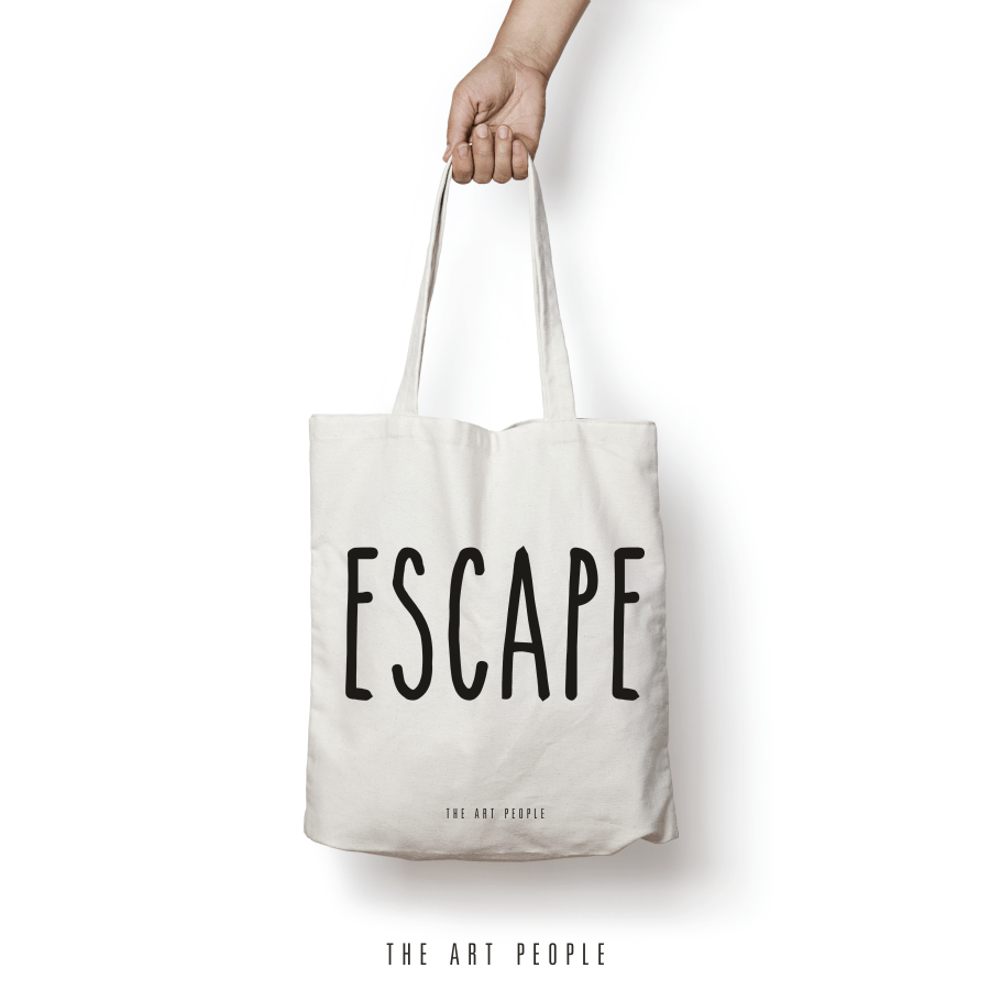 Escape Tote Bag. Uptownie.