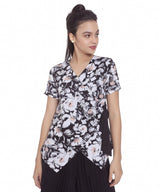 Floral Printed Wrap Top. BUY 1 GET 3