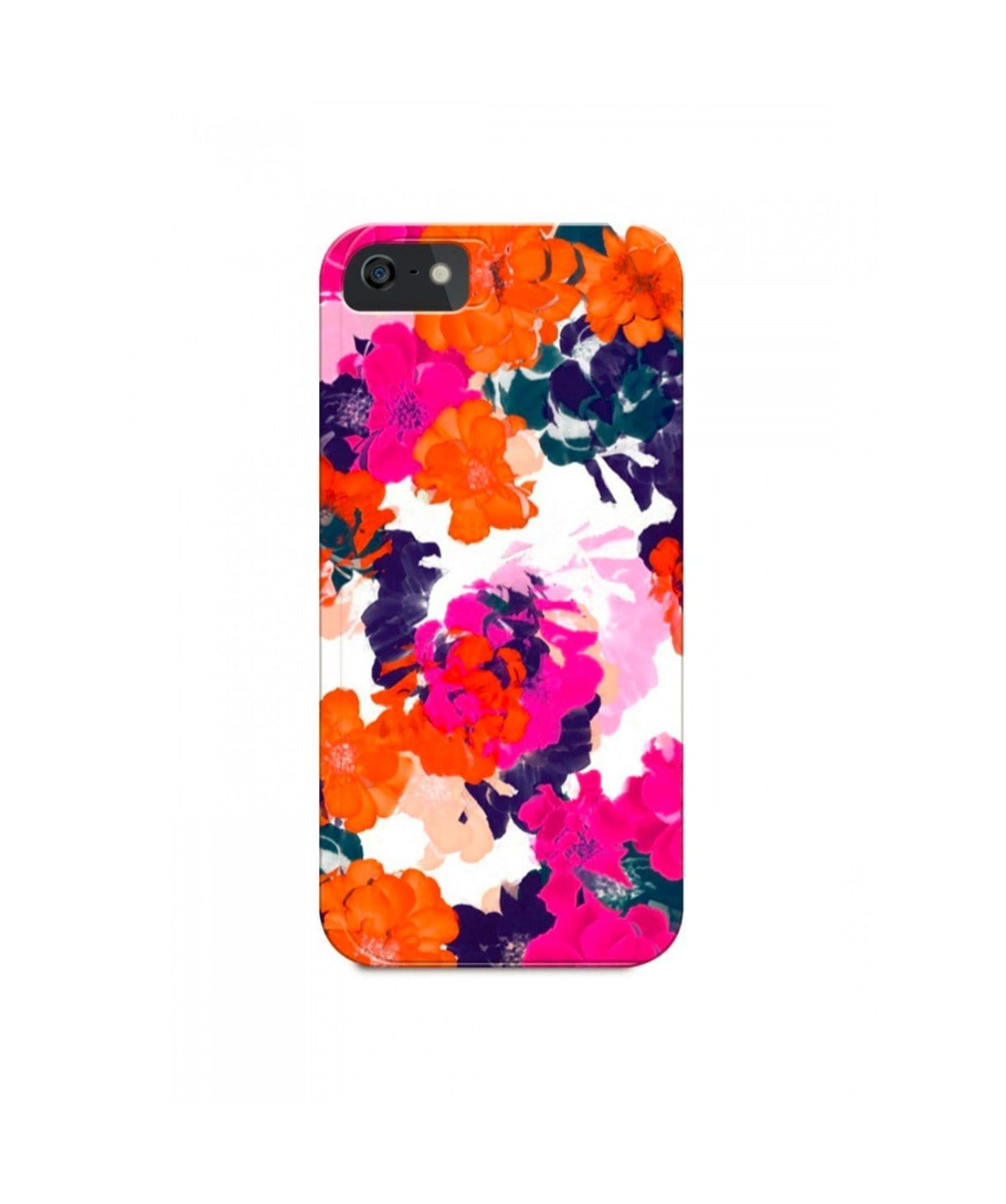 Floral Splash IPhone Cover (Personalisation Available) - Uptownie