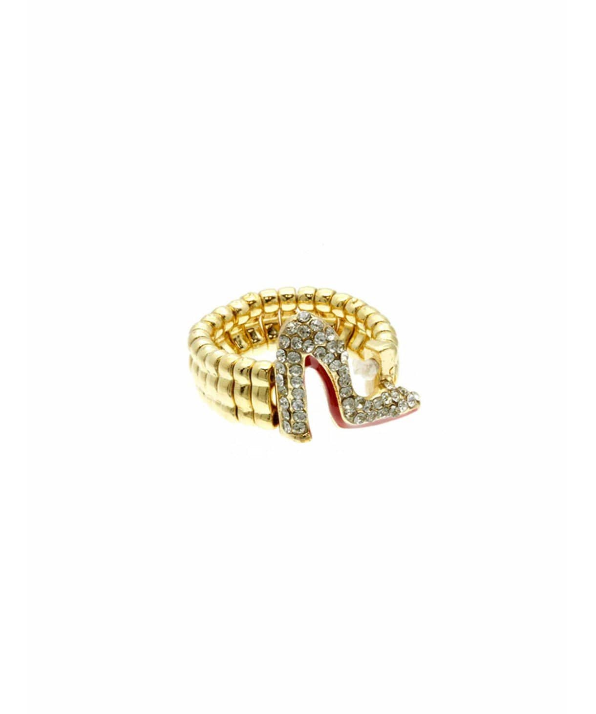 Glam Shoe Ring - Uptownie