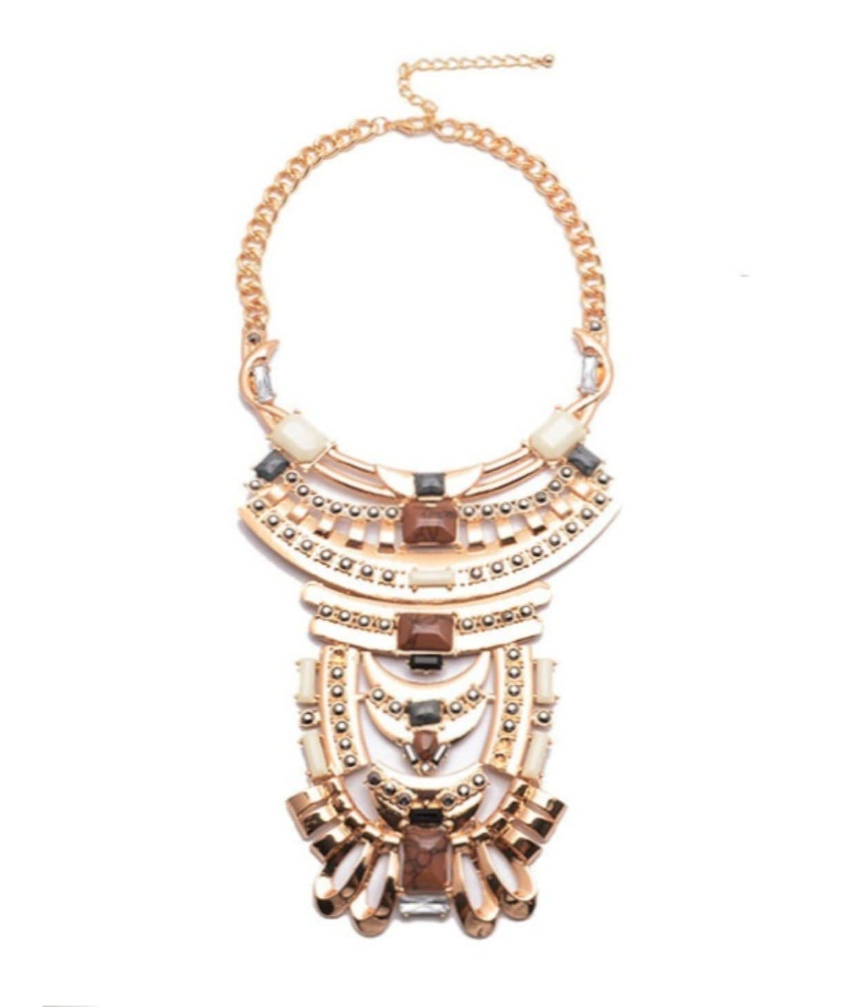Glorious Russet Necklace - Uptownie