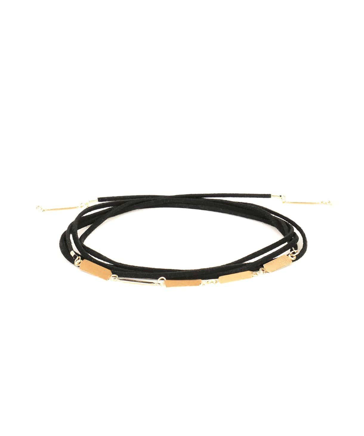 Gold Tie Up Choker - Uptownie