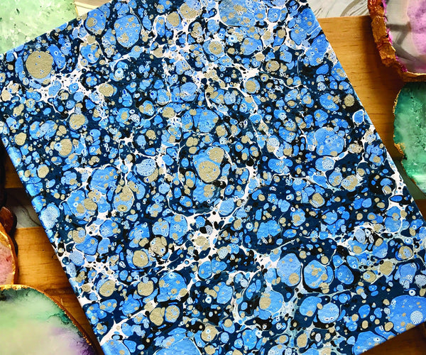 Hand Marbled Diary(Personalisation Available)