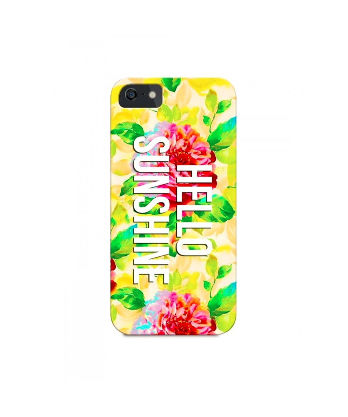 Hello Sunshine IPhone Cover (Personalisation Available) - Uptownie