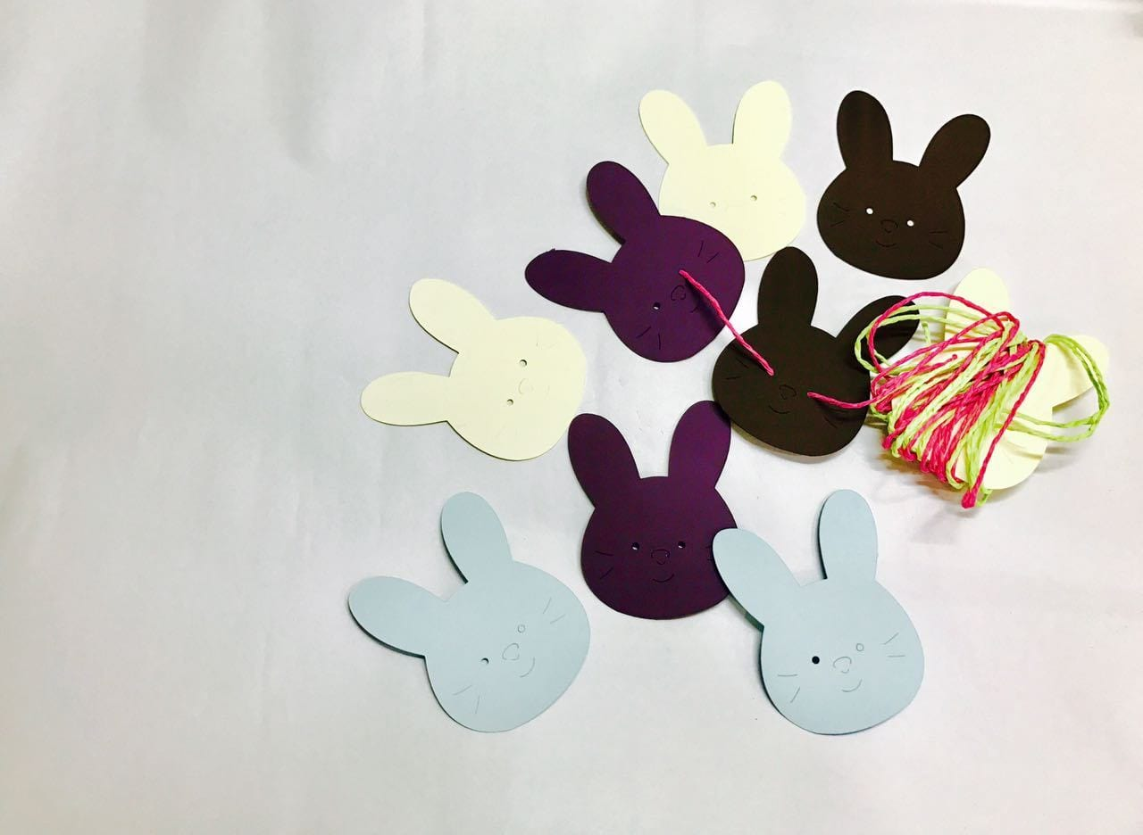 Bunny Gift Tags(set of 8)(Personalisation Available) - Uptownie
