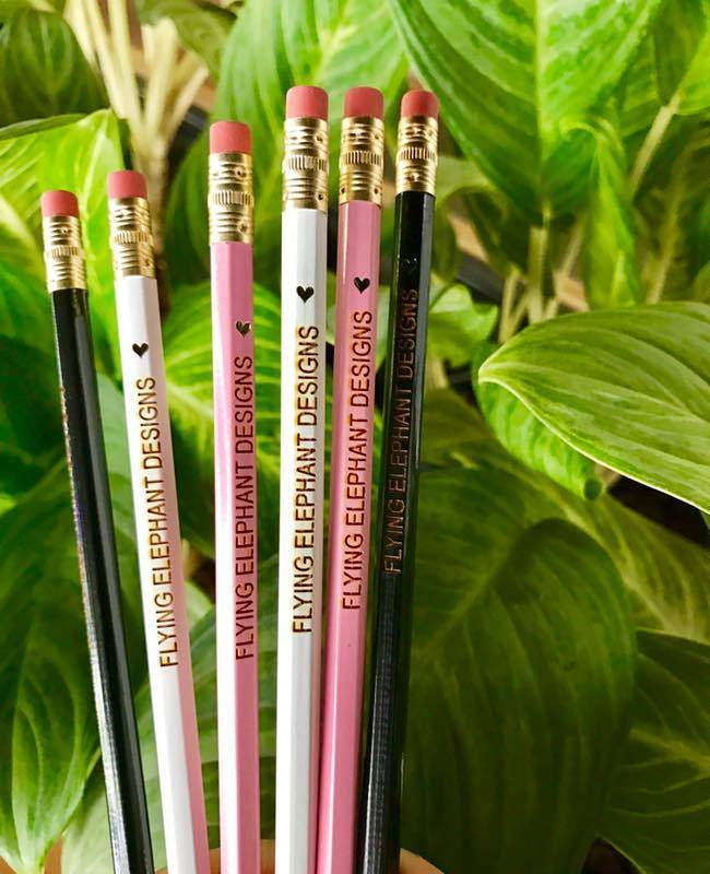 Assorted Pencil Set(set of 6)(Personalisation Available) - Uptownie