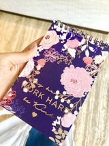 Blooming Notepad(Personalisation Available) - Uptownie