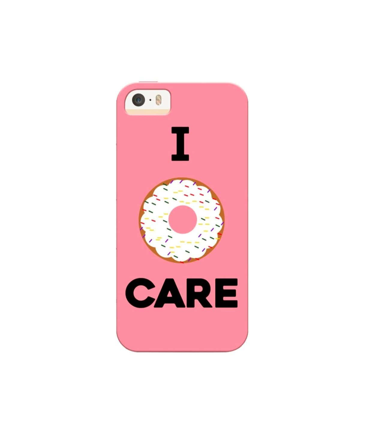 I Donut Care IPhone Cover (Personalisation Available) - Uptownie