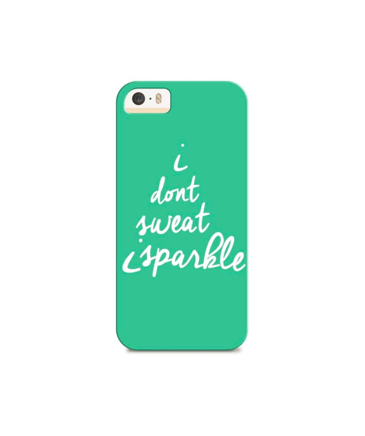 I Sparkle IPhone Cover (Personalisation Available) - Uptownie