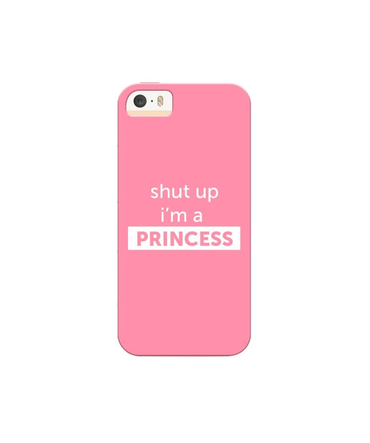 I'm A Princess IPhone Cover (Personalisation Available) - Uptownie
