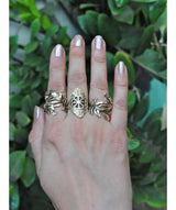 Antique Gold Ring Set - Uptownie