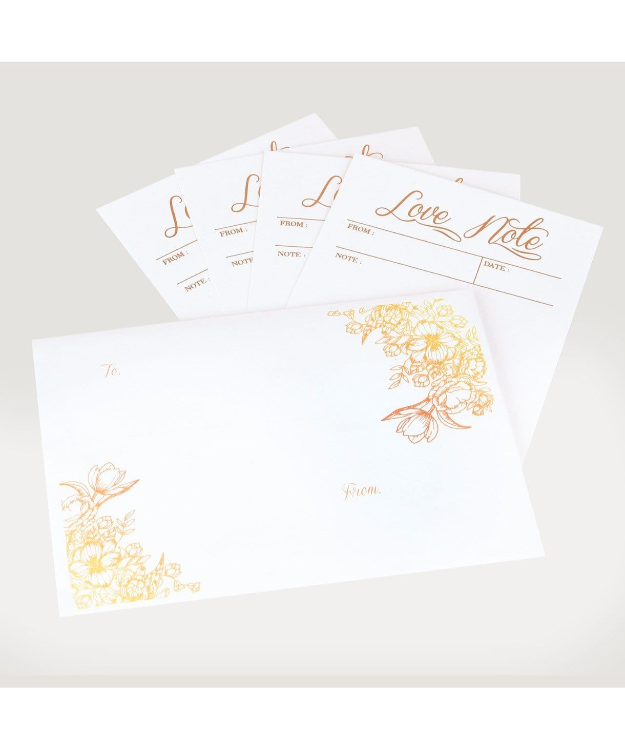 LOVE NOTES (set of 6) - Uptownie