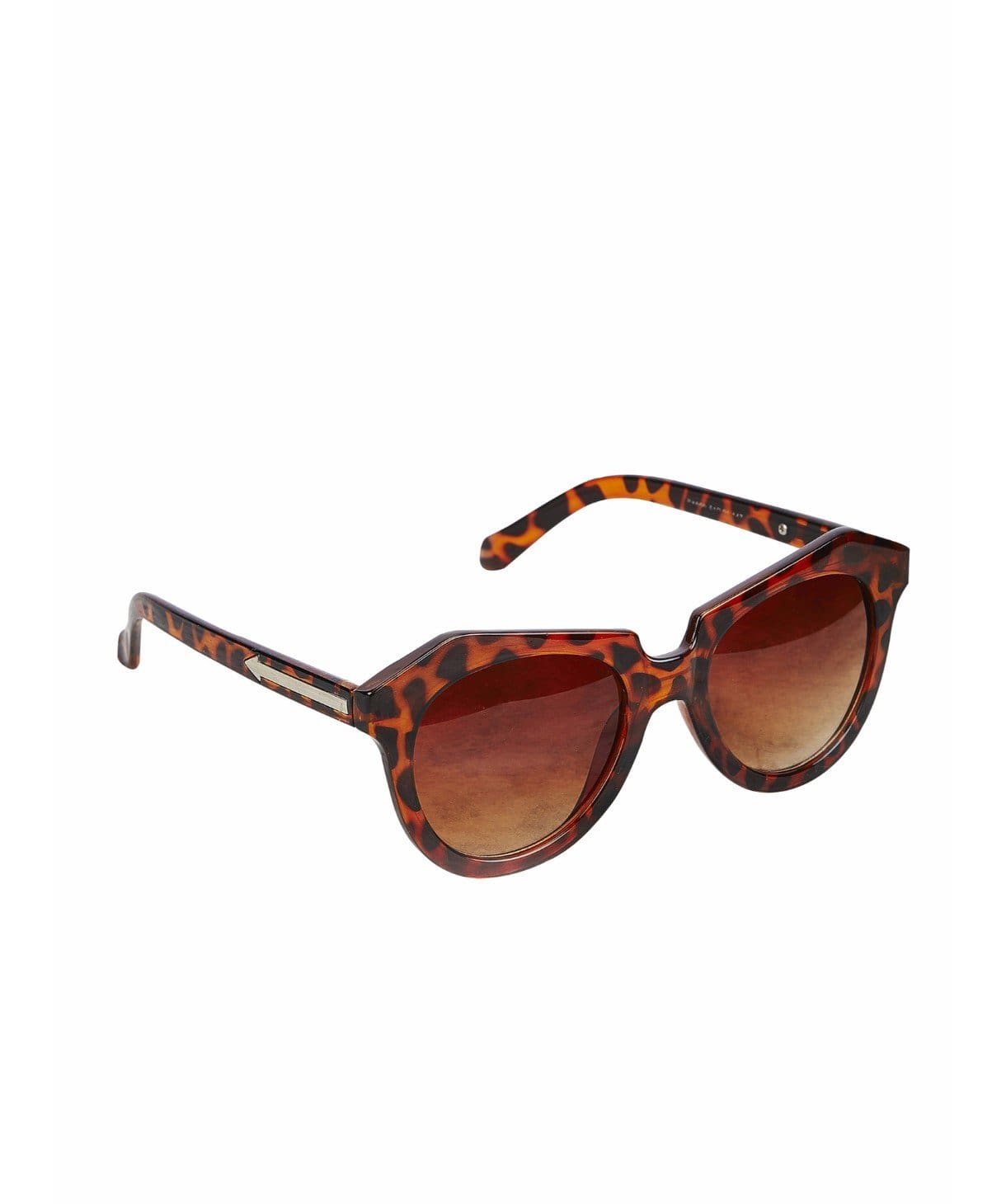 Leopard Print Cat Eye Sunglasses - Uptownie