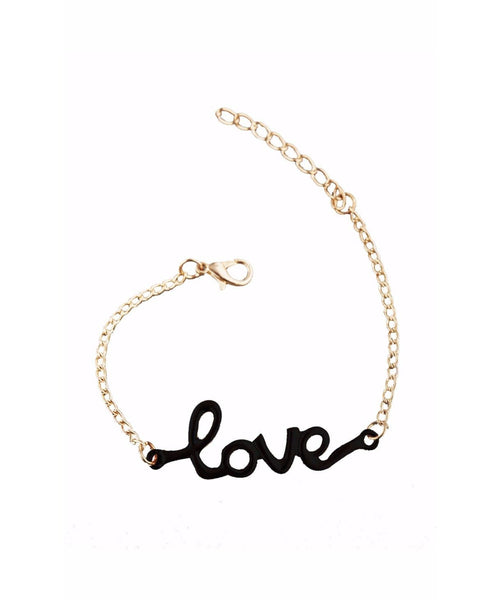 Love Black Bracelet - Uptownie